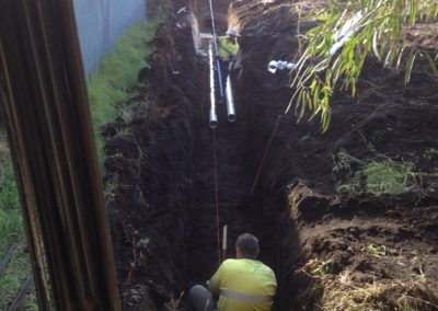 Excavate Service Trenches