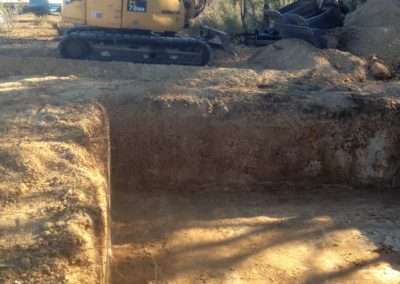 Excavation for Swimming Pool